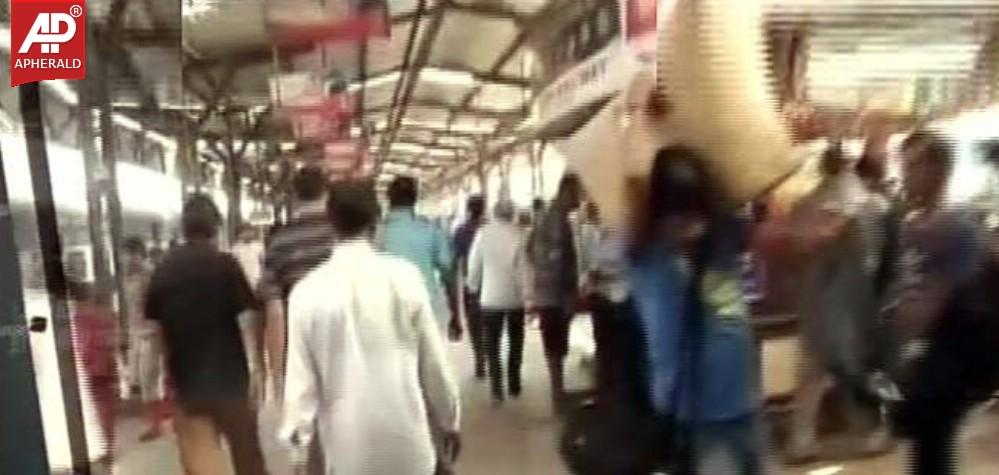 bomb blast in a railway station Russian subway blast kills 11 2nd bomb defused at that station is a major transfer point for passengers on two lines and serves the railway station to.
