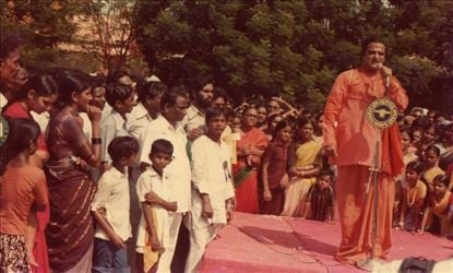 Sr NTR Rare & Unseen Stills During Political Campaign