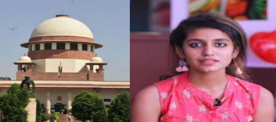 Group in Maharashtra Aurangabad filed complaints against Priya Varrier