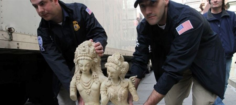 Indian antiques & Valuables seized by US from art smuggler