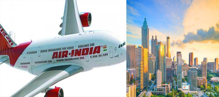 Will Indian Govt start Air India service from Atlanta?