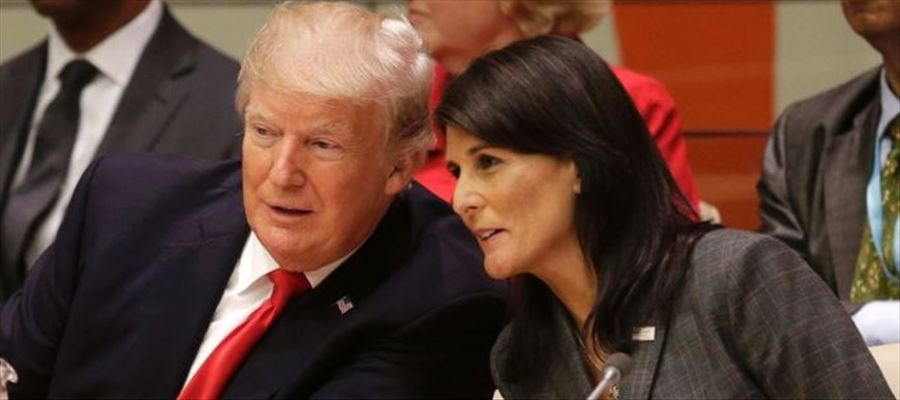 US Representative Nikki Haley condemned as highly offensive & disgusting rumors spread about her personal life