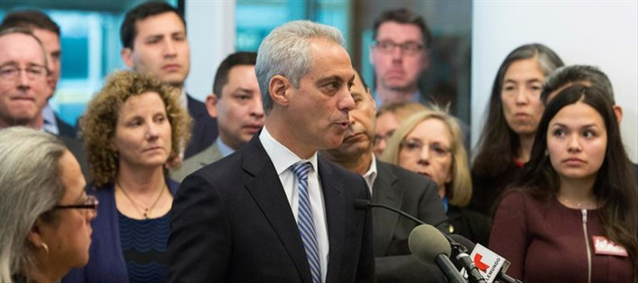 Chicago's campaign about Trump's immigration policies catapulted