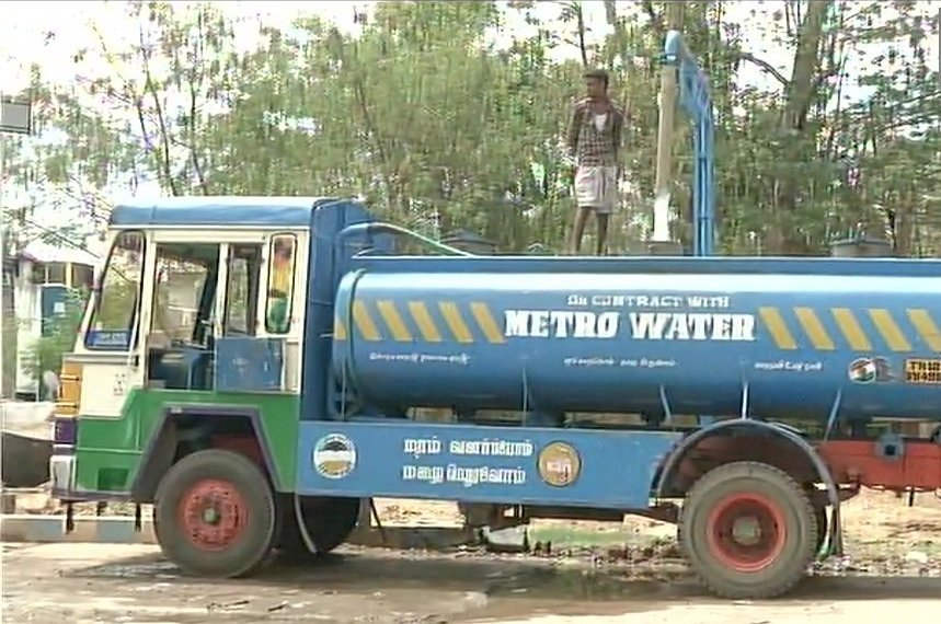 Chennai People Rely On Metro Water Supply As Reservoirs And Borewells Have Dried
