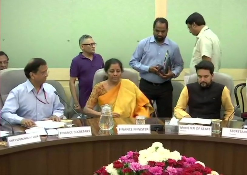 Finance Minister Nirmala Sitharaman Held Pre Budget Consultation Meeting