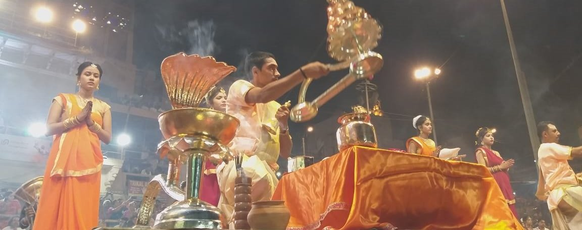 Special Aarti Performed At Dashashwamedh Ghat In Varanasi On The Occasion Of Ganga Dussehra
