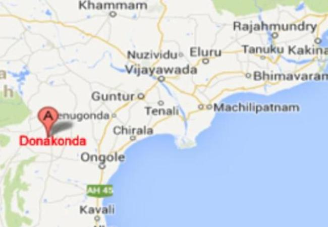 Donakonda will be Andhra's new capital
