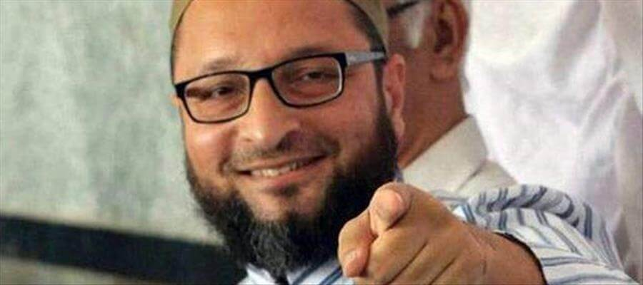 Why is Owaisi extremely happy?