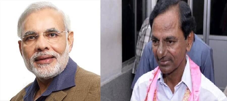 Did KCR give Beedi shock to Modi?