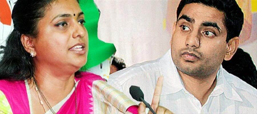 How will Lokesh reply to Roja's fireworks?