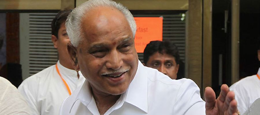 BS. Yeddyurappa met Governor, says BJP condemns devious means by Congress