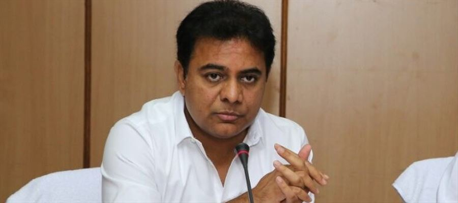 """KTR promises saying """"We will give jobs for 10,000 to 15,000 by setting up Steel Plant in Telangana"""""""