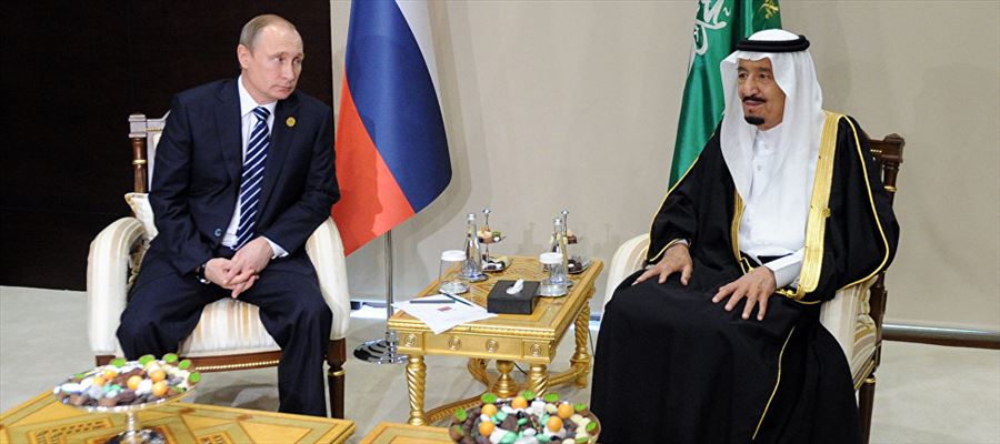 Russia & Saudi Arabia agreed to pump more crude oil to match worldwide requirements