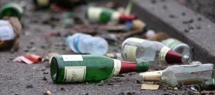 640 non-duty paid liquor bottles destroyed in Hyderabad