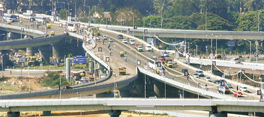 Bengaluru traffic police prohibits slow vehicles on Airport flyover Road