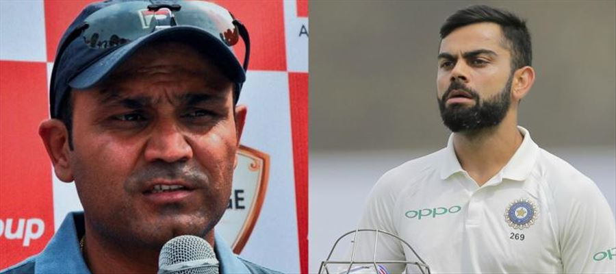 Sehwag challenges Kohli can't do it!