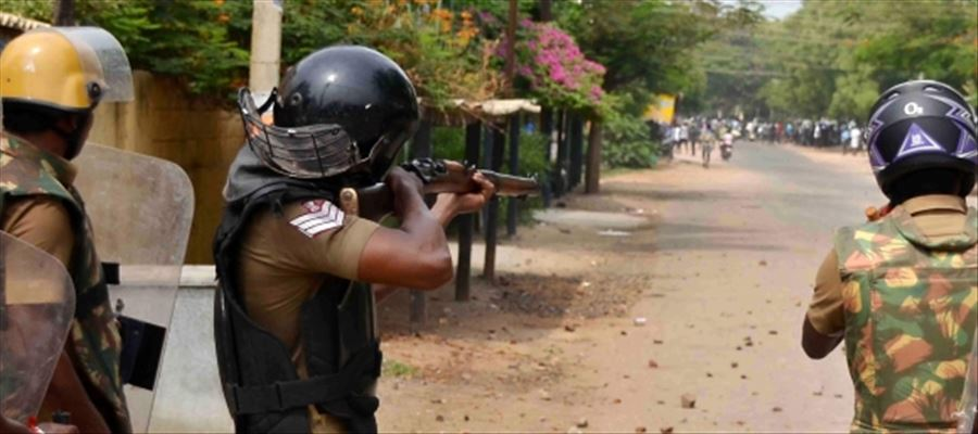 Officials charged in shooting order during Sterlite protest transferred