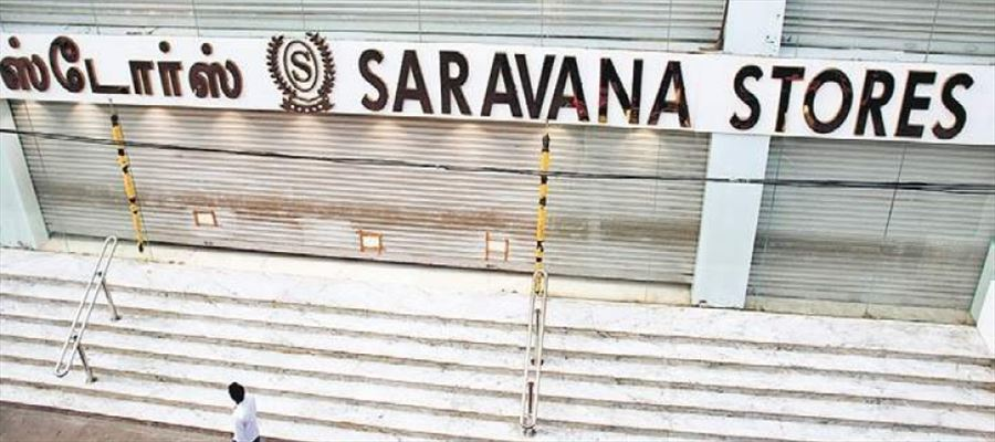 IT raids conducted in Chennai Saravana Stores & 2 Realty Firms