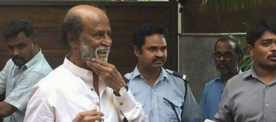 Rajinikanth's sudden press meet!