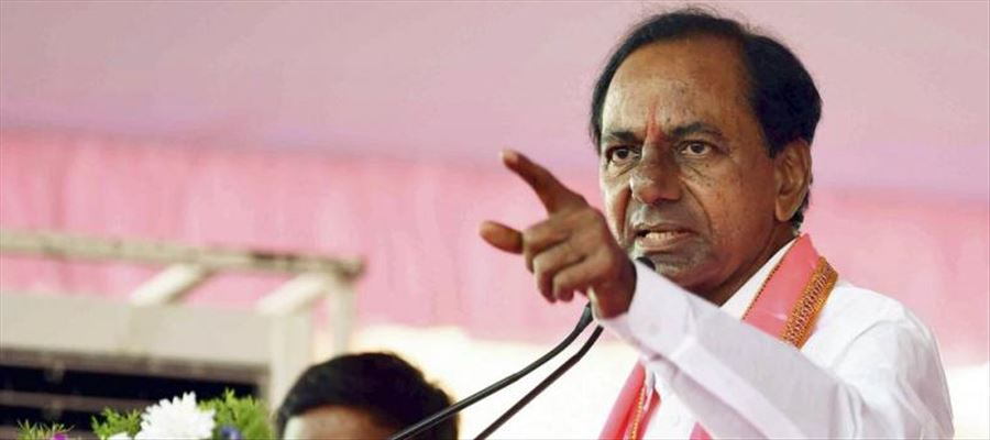 KCR hits back at Narendra Modi for calling as Insecure Leader