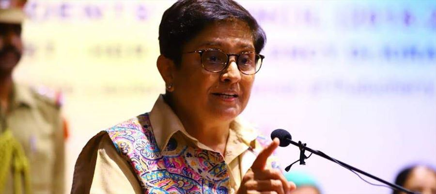 Lieutenant Governor Kiran Bedi warned SVMCH College to a fee dispute