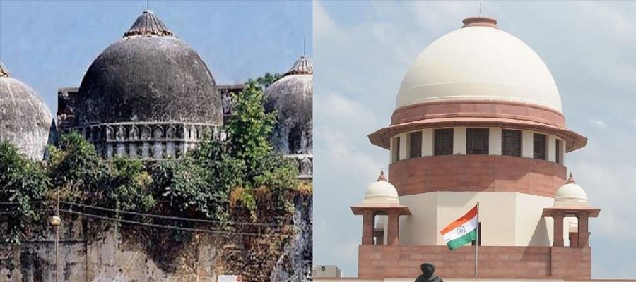 SC heard contentious Babri Masjid-Ram Temple land dispute case