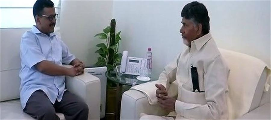 CBN for Kejriwal, and against Governor!