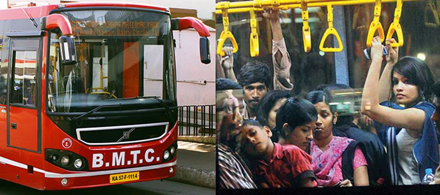 BMTC increased AC bus fares by an average of 16.89%