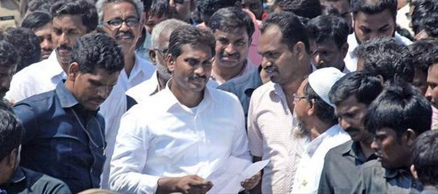 YS Jagan Praja Sankalpa Yatra to enter Vizag on August 14