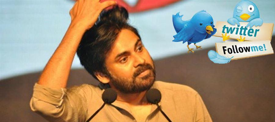 Pawan's official Twitter tweets turned Trending