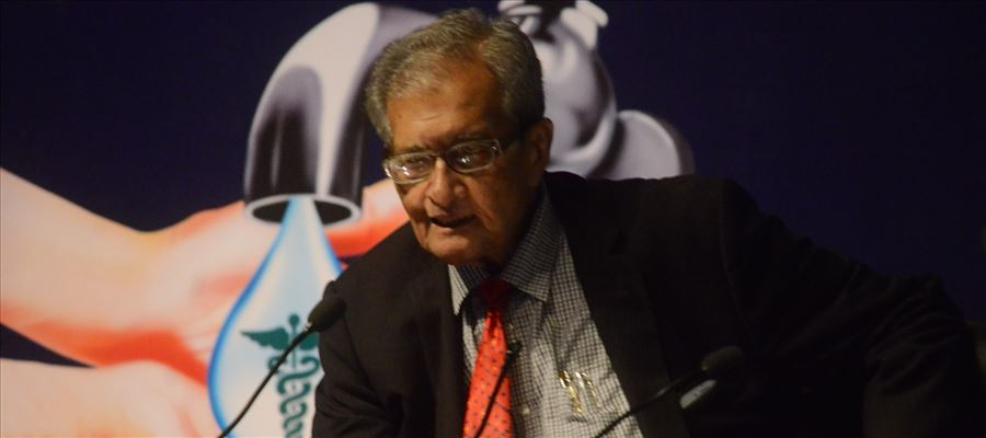 "Amartya Sen highlighted ""three general failures"" in India's healthcare segment"