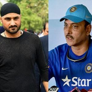 Harbhajan lashes out at Ravi Shastri!