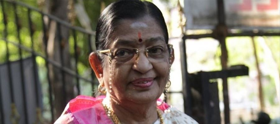Female Singer P. Susheela is hale and healthy - She released a video