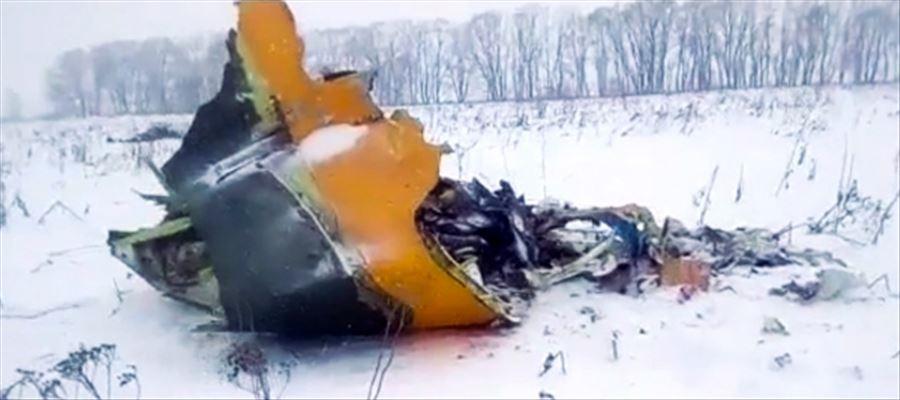 Russian passenger plane crashed killing 71