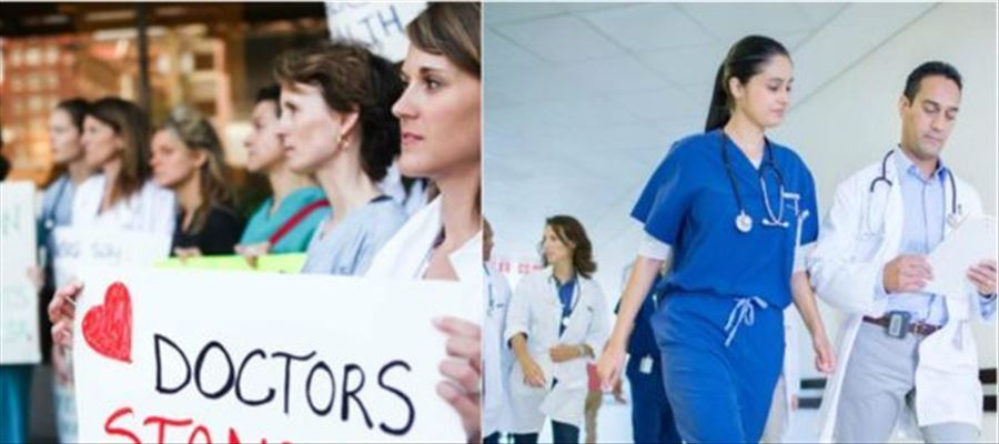 Doctors in Canada, protest as they are getting 'Huge Salary' - Yes! We are Serious!