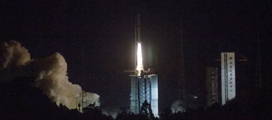 China catapulted a relay satellite to establish communication between Earth and Lunar probe