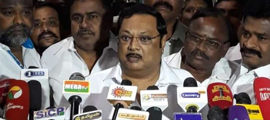 Alagiri said DMK would face threat after his Rally