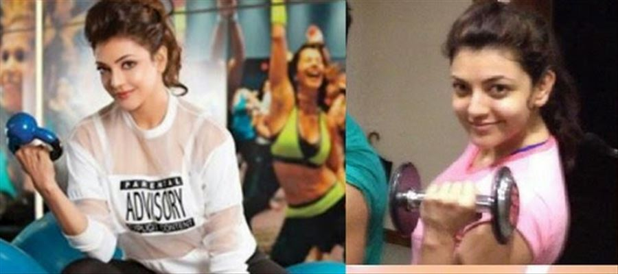 Kajal Aggarwal Fitness Secret made easy through Yoga
