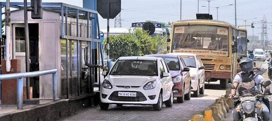 Toll Fee Charges to hike from July 1 in OMR Road