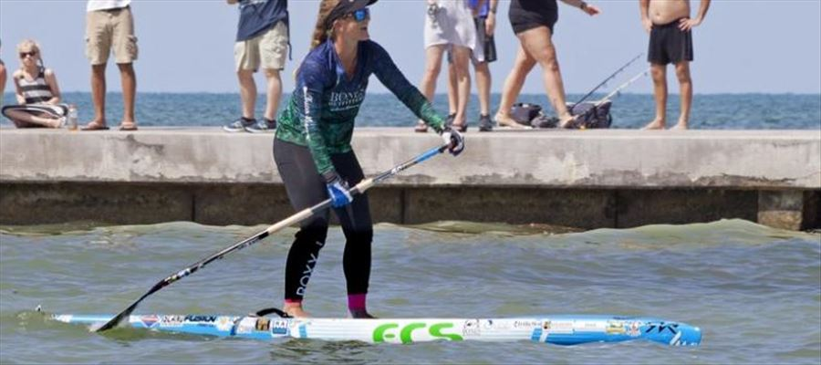 Florida woman arrived paddling in less than 28 hours