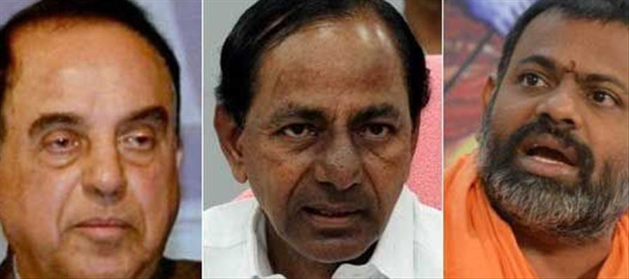 Controversial Leader Subramaniya Swamy's next target is CM KCR