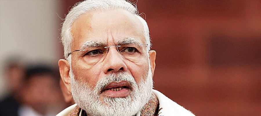 PM Narendra Modi accused Congress for standing only with Muslim men
