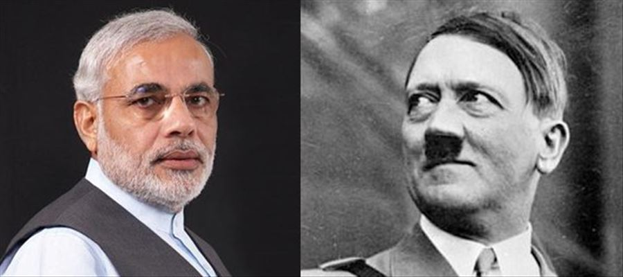 Modi becomes the new Hitler of AP!