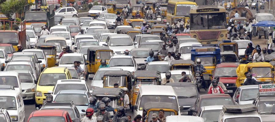 Do you know which is Indias Most CONGESTED PLACE?