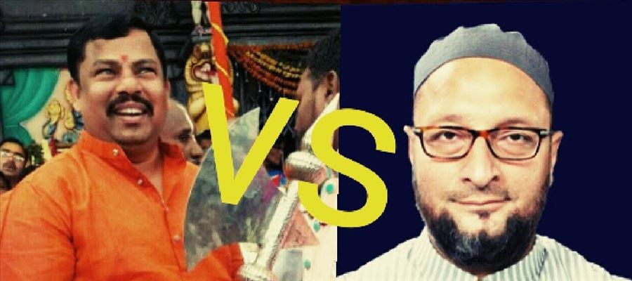 T Raja Singh ready to fight against Owaisi Brothers