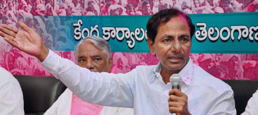TRS turned Hyderabad & outskirts Pink amid Early Polls Buzz