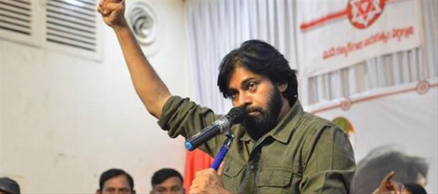Pawan Kalyan contributed Rs. 100 for serving people
