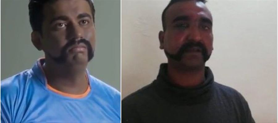 Pakistan Mocks Abhinandan Capture in a Racist Ad for the World Cup Clash against India - VIDEO INSIDE