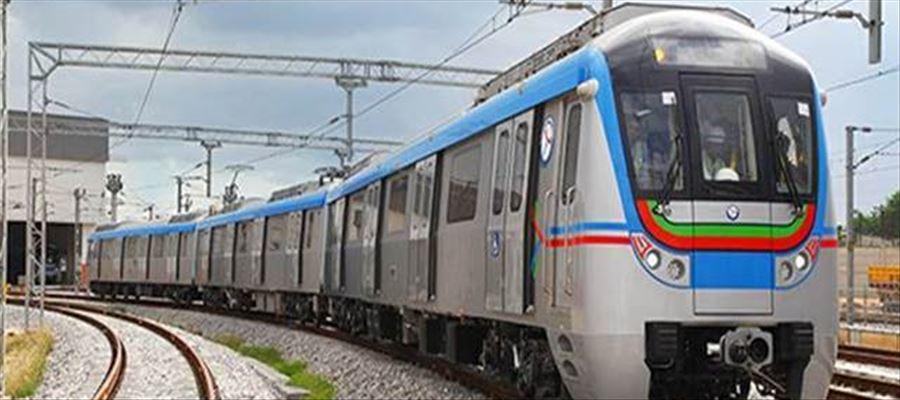 Hyderabad Metro recording footfall of 80,000-85,000 passengers per day