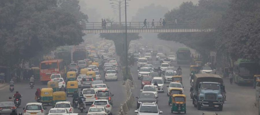 Which is the most polluted city in India?